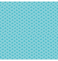 Marine fish scales simple seamless pattern vector