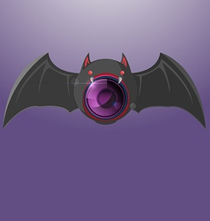Bat Night Camera Vision Symbol vector image