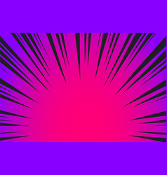 Hyper speed warp sun rays or explosion boom for vector