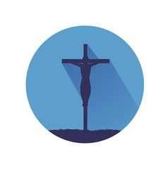 Jesus symbol vector