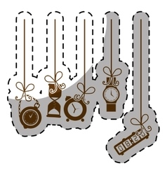 Watches types icon image vector