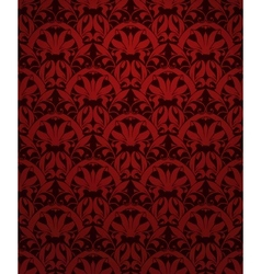 Seamless pattern red vector image