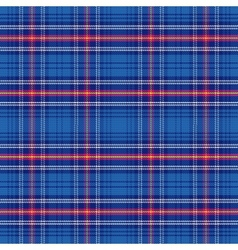 Seamless pattern scottish tartan army vector