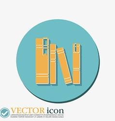 Book spine spines of books vector