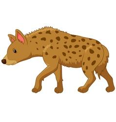 Cartoon of a hyena vector