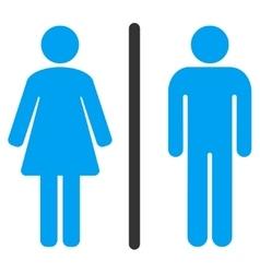 Toilets Icon vector image