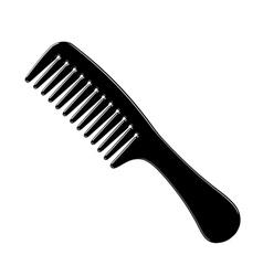 Hairbrush vector image