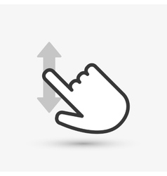 Cursor icon design vector