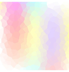 Abstract vibrant mosaic made of colorful elements vector image