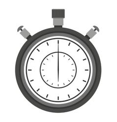 Chronometer isolated icon design vector