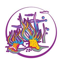 Anemones clip art vector