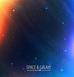 Cosmos lights universe background vector