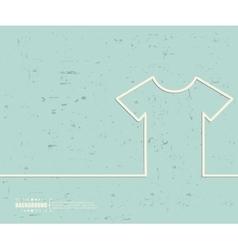 Creative tee shirt Art vector image vector image