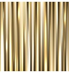 Metallic gold background vector