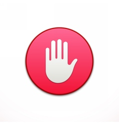 Privacy app icon application button icon vector
