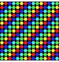 Rainbow petals vector