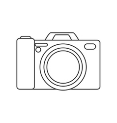 Isolated camera device design vector