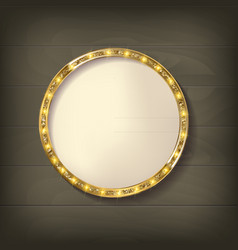 Round frame cinema vector