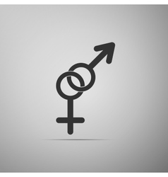 Gender symbol icon vector