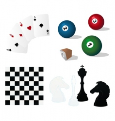 games vector image vector image