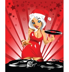 new year music at midnight vector image