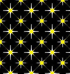 seamless 2 color pattern vector image vector image
