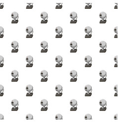 webcam pattern seamless vector image vector image