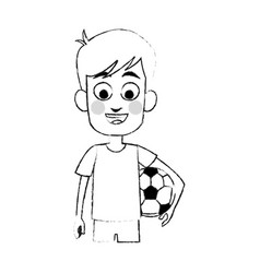young boy icon image vector image
