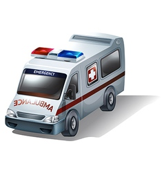 An emergency vehicle vector