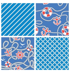 Rope blue set 3 380 vector