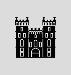 Windsor castle vector
