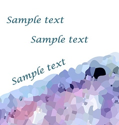 Mosaic background3 vector image vector image