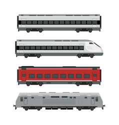 trains vector image
