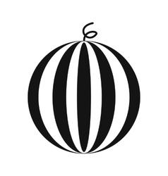 Watermelon simple icon vector image vector image