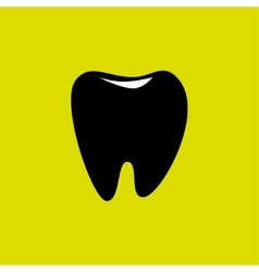 Tooth icon design vector