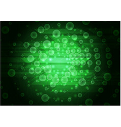 green abstract modern background design vector image