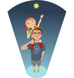 Reach for a star vector