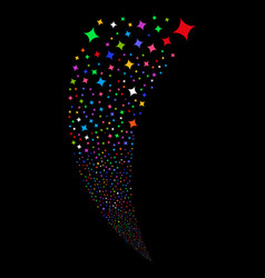 Sparcle star random stream vector