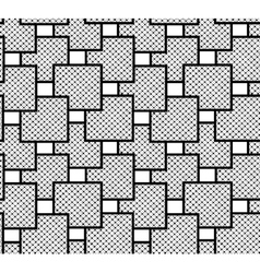 The pattern of squares checkered vector