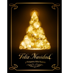 Christmas card tarjeta navidena vector