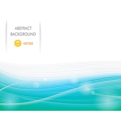 Abstract Eco Background vector image
