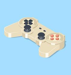 Video game gamepad controller vector