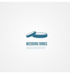 Abstact ring template Corporate icon vector image