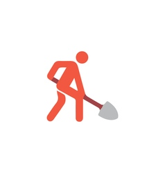 Building works Icon vector image