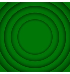 Concentric green 6 circle background vector