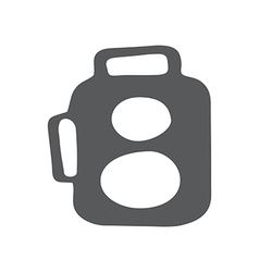 Retro camera icon vector image