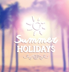 retro summer background 1405 vector image vector image