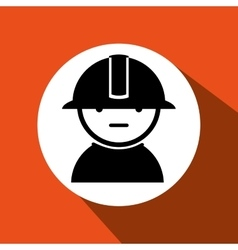 Industrial worker design vector