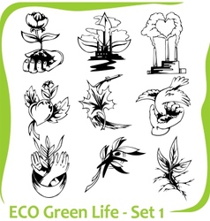 Ecology - vector image vector image