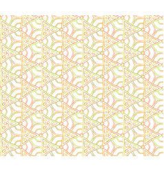 Seamless abstrac unusual triangular pattern vector